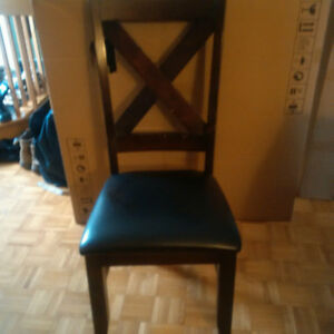 Solid wood chairs - 4