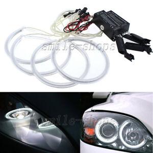 For 04-08 Mazda 3 Sedan Hatchback 6000k White CCFL Angel Eye Halo Ring Light Kit