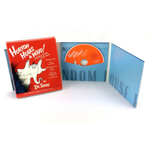 Horton Hears A Who CD Audiobook Dr Seuss 3 Books In 1 Set Read
