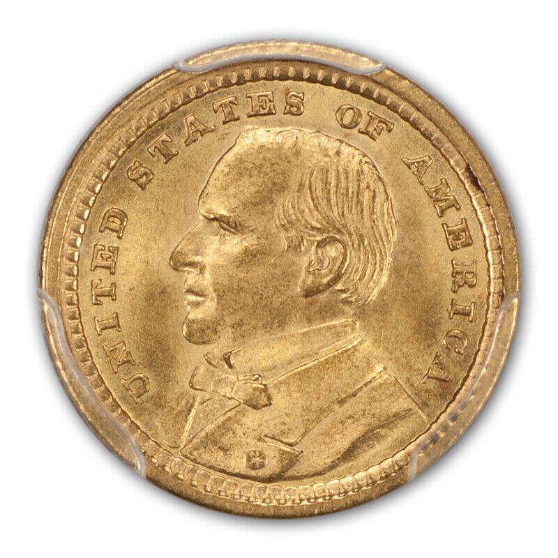 LA PURCHASE, MCKINLEY 1903 G$1 Gold Commemorative PCGS MS66