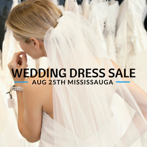 WEDDING DRESS CLEARANCE SALE BRIDAL SHOW! $199-$899 SZ2-28