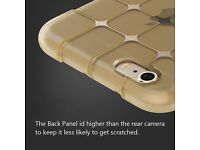 iPhone 6 6s Case High Drop Resistance Cover Protect Camera Silicon Gold colour new