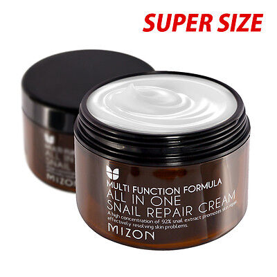 Mizon  All In One Snail Repair Cream 120Ml  Super Size    Anti Wrinkle Function