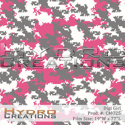 Hydrographic Film For Hydro Dipping Water Transfer Film Digi Girl Camo