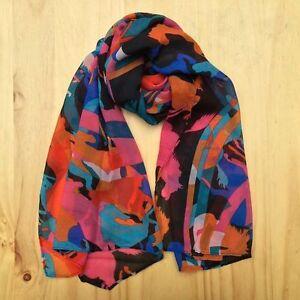 Women Lady Fashion  Chiffon Long Style Soft Wrap Shawl  Beach Silk Scarf
