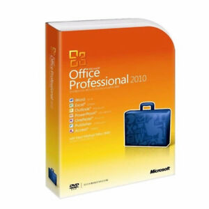 Microsoft Office 2010 Professional Office Suite--English Version