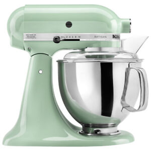 KITCHENAID MIXER  KSM150PSPT ARTISAN  Pistachio NEW INBOX W BILL