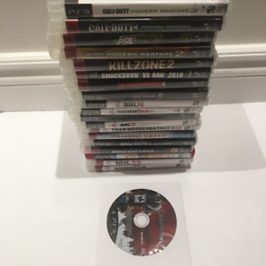 PlayStation 3 games, 20 Ps3 Game bundle Cheap!