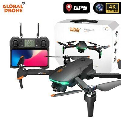 Drone 4K GD91 Pro w/ 2 axis gimbal stabilizer, GPS & Optical Abundance, triple camera