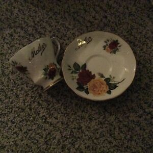 """For sale-Royal Grafton """"Mother"""" china cup & saucer"""