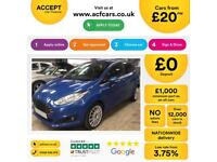 Ford Fiesta 1.6TDCi ECOnetic Titanium BLUE 5dr FROM £20 PER WEEK!