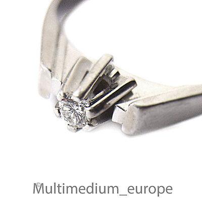 585er Weißgold Ring Diamant white gold ring diamond 14ct 585 🌺🌺🌺🌺🌺