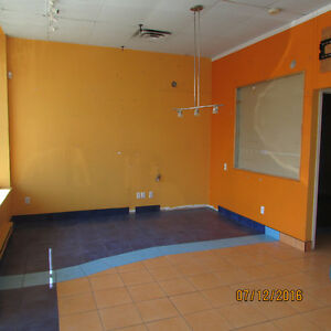 West Island Pierrefonds Commercial Space  514-236-0288