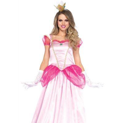 Leg Avenue CLassic Pink Princess Dress Fairy Tale Adult Womens Costume 85461](Pink Princess Dress Adults)