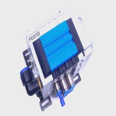 Festo Cpv14-ge-fb-4 Manifold Interface W Cpv14-vi Pneumatic Solenoid Valve
