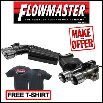 Flowmaster 2016-2020 Camaro SS / ZL1 6.2L American Thunder Axle-Back Exhaust Kit American Thunder Kit