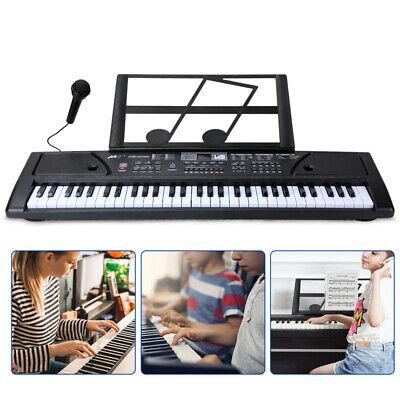 Suzuki SP-40E 61 Key Portable Electronic Keyboard Synthesizer AC-DC Free Ship!