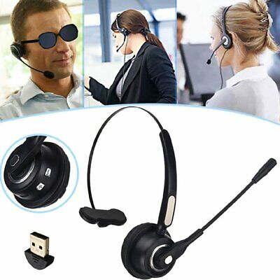 USB Headset With Microphone Telephone Headphone Noise Canceling Call Center New