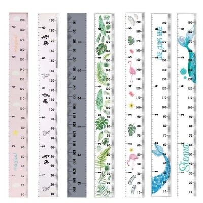 - Nordic Wooden Baby Growth Chart Kids Room Wall Hanging Height Measure Ruler New