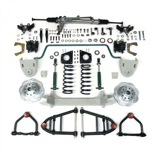 Wanted 1964-1970 ford mustang 2 front end kit / 4 link rear end