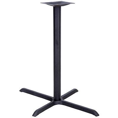22 X 30 Restaurant Table X-base With 3 Dia. Bar Height Column