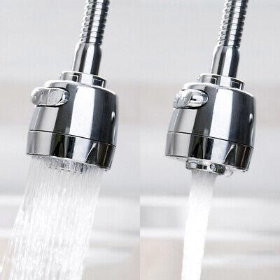 360°Swivel Tap Aerator Sink Mixer Faucet Nozzle Dual Spray Extender Kitchen (Kitchen Aerator)