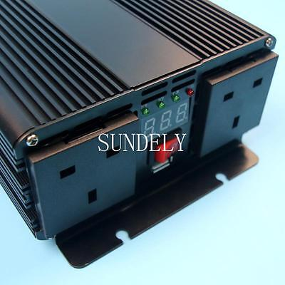 3000W PEAK Car DC 12V - AC 220V Modified Power Inverter Converter for Electronic