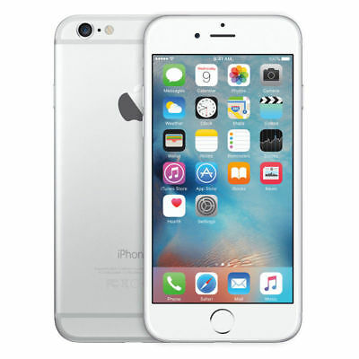 Apple iPhone 6 - 16GB - Silver (AT&T LOCKED)Smartphone A1549  1YR WARRANTY