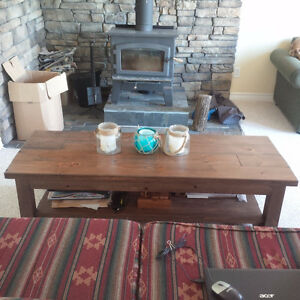 Reclaimed Pine Coffee Table and End Tables Belleville Belleville Area image 1