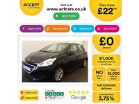 Peugeot 208 1.2 VTi ( 82bhp ) 2012MY Access+ FROM £22 PER WEEK