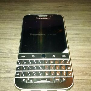 Blackberry Classic locked to bell