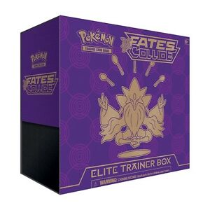 Pokemon XY Fates Collide Elite Trainer Box - Purple