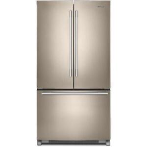 "Whirlpool 36"" Inch wide French 3-Door Refrigerator WRFA35SWHN  (BD-919)"