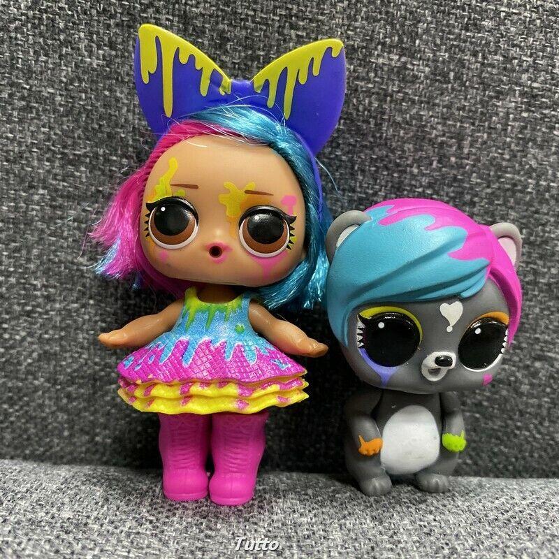 Lol Surprise Splatters Doll Eau De Pets Color Change Makeover