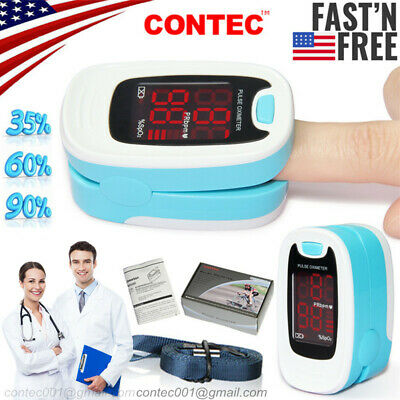 Us Stockfingertip Pulse Oximeter Spo2 Blood Oxygen Saturation Patient Monitor