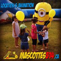MASCOTTE / MASCOT à Montréal : Animation et location de costume