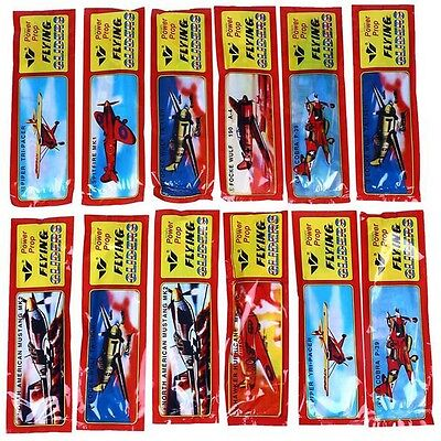 Lot 50Pcs Flying Glider Planes Party Bag Fillers Childrens Toys Game Prizes - Flying Gliders