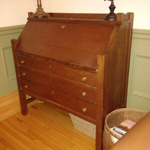 Antique Mission Desk