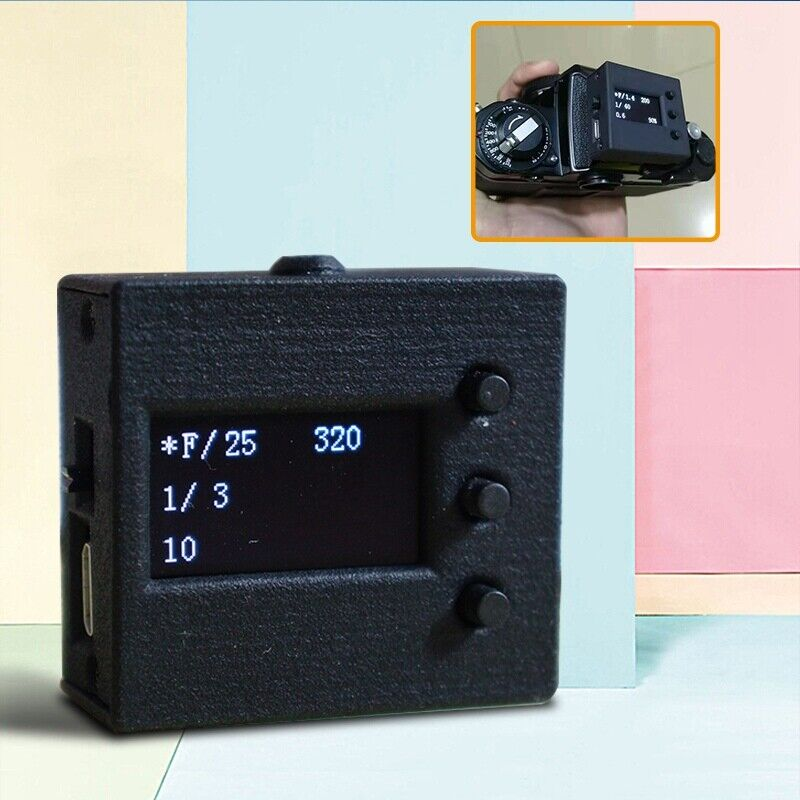 Light Meter Photography Set Top Reflection Flenda Hot Shoe Light Meter