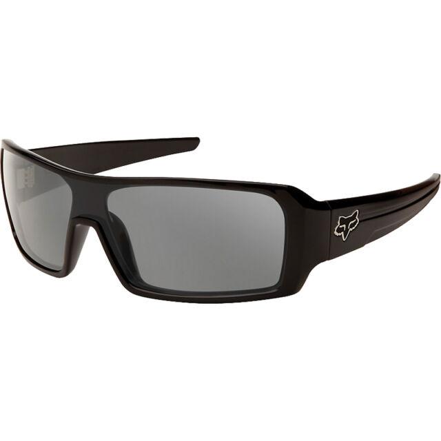 Fox Racing Sunglasses The Duncan Polished Black Grey Polarized Lens Moto BMX DH