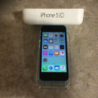 Blue iPhone 5c mint 16 GB