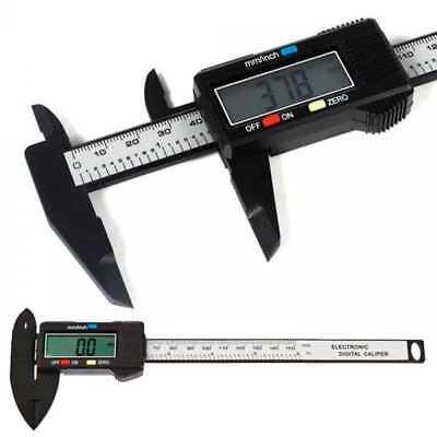 Pie de Rey Calibre Digital Precisión Pantalla LCD 0.1 150mm Caliper Alta...