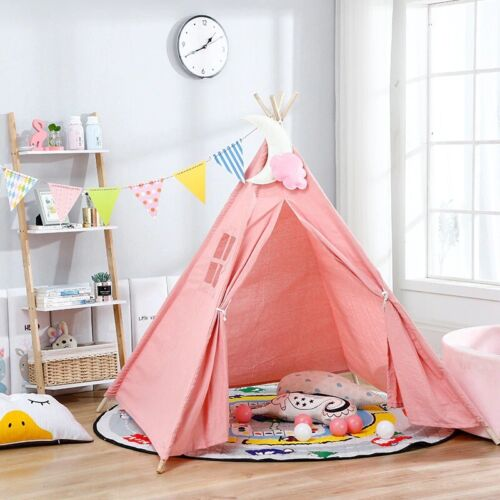 Children Kids Baby Portable Play Tent Fairy Large Baby Playhouse Outdoor Indoor