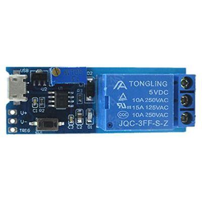 Wide Voltage 5v-30v Trigger Delay Relay Module Timer Module Time Delay Switch