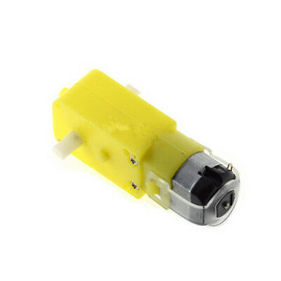 Electric Gear Motor Gear Box Strong Reduction Dual Shaft Dc 3v-6v Car Toy Accs