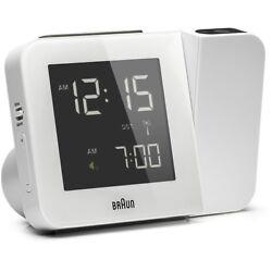 Braun Projection Clock   White