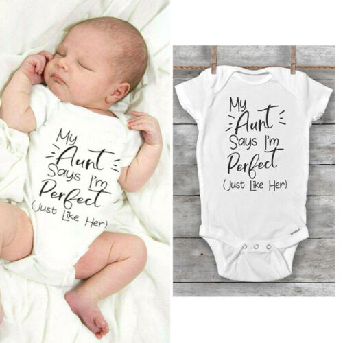 Newborn Baby Boy Girl Unisex Cotton Romper Jumpsuit Bodysuit