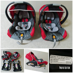 2 Chicco Keyfit 30 Car Seats Sale As Set Or Single