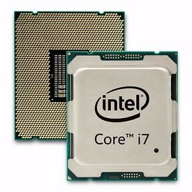 Intel i7-6850K 3.60GHz (Broadwell-E) Socket LGA2011-V3 (X99) Processor - Nearly new.