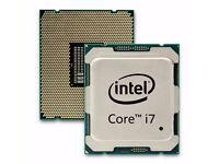 Intel i7-6850K 3.60GHz (Broadwell-E) Socket LGA2011-V3 (X99) Processor - Nearly new.